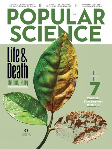 Popular Science Cover - 6/1/2018