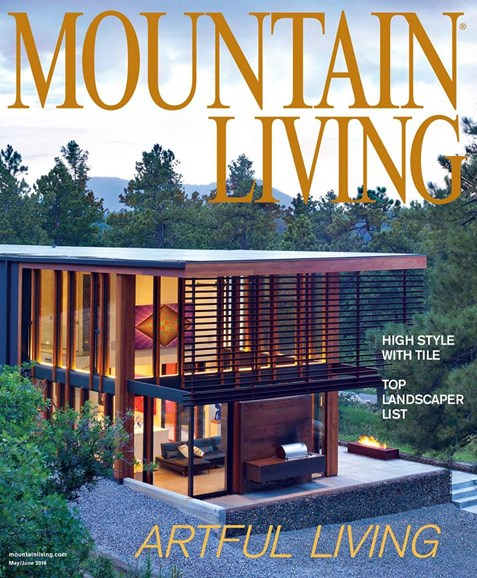 Mountain Living Cover - 5/1/2018