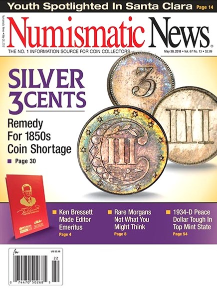Numismatic News Cover - 5/29/2018