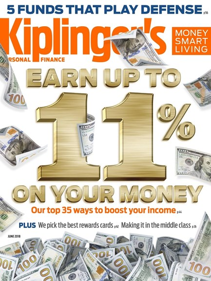 Kiplinger's Personal Finance Cover - 6/1/2018