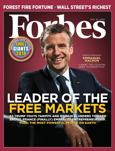 Forbes Cover - 5/31/2018