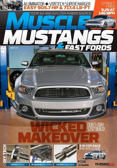 Muscle Mustangs & Fast Fords Cover - 7/1/2018