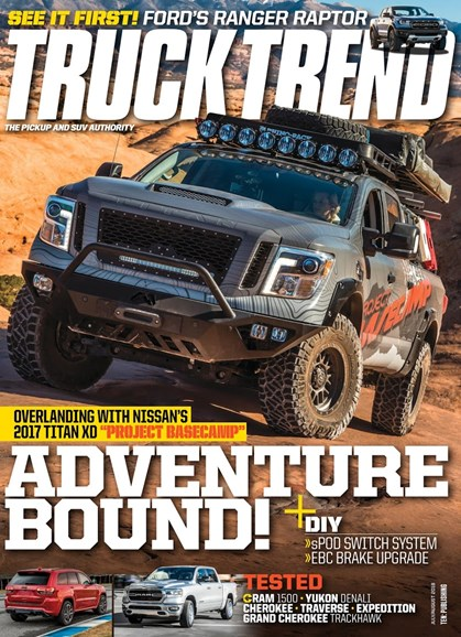 Truck Trend Cover - 7/1/2018