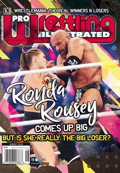 Pro Wrestling Illustrated Cover - 8/1/2018
