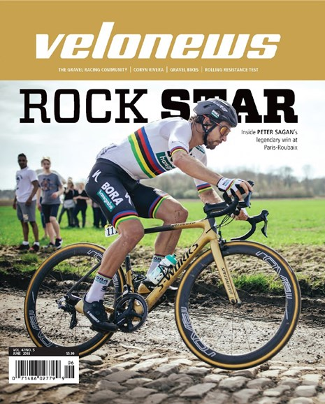 VeloNews Cover - 6/1/2018