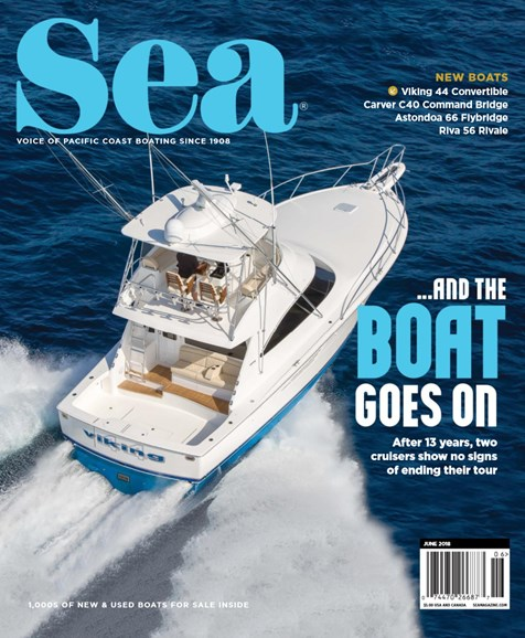 Sea Magazine Cover - 6/1/2018
