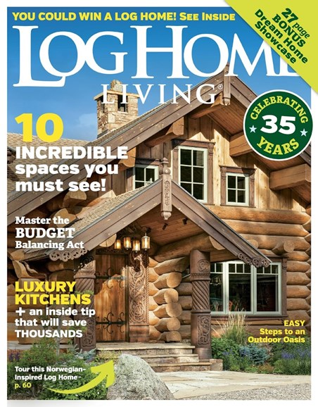 Log Home Living Cover - 6/1/2018