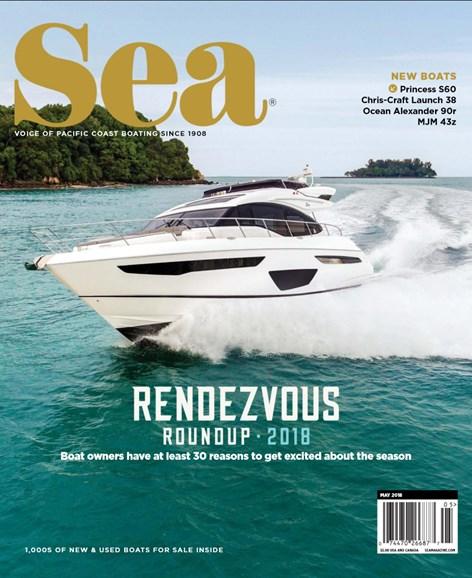Sea Magazine Cover - 5/1/2018