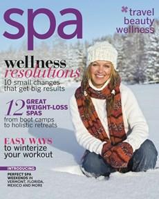 Spa Magazine   1/2012 Cover