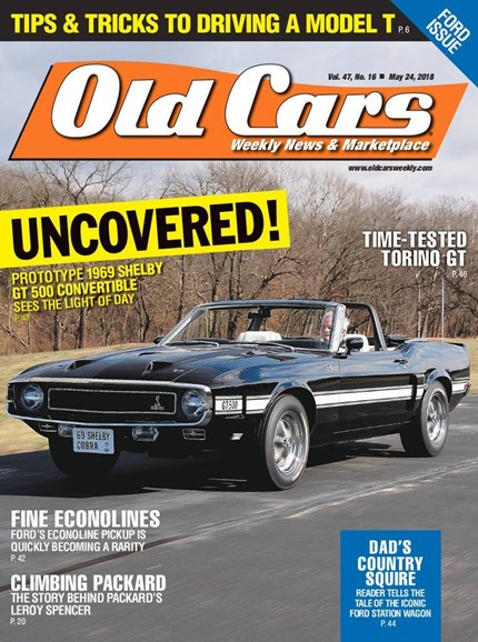 Old Cars Cover - 5/24/2018