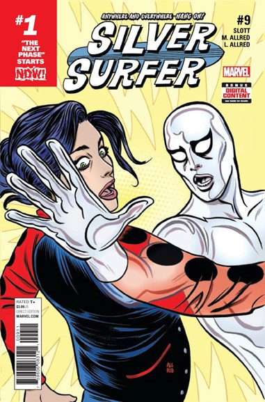 Silver Surfer Cover - 5/1/2017