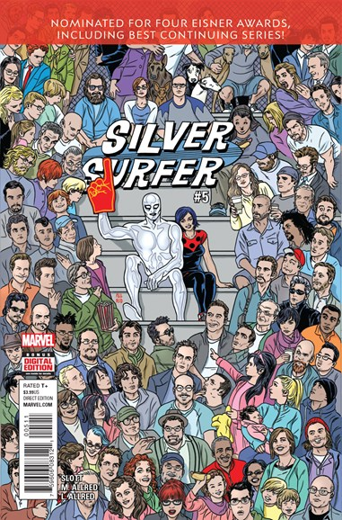Silver Surfer Cover - 9/1/2016