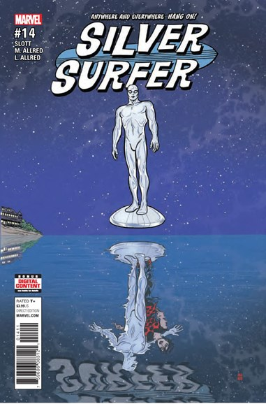 Silver Surfer Cover - 12/1/2017