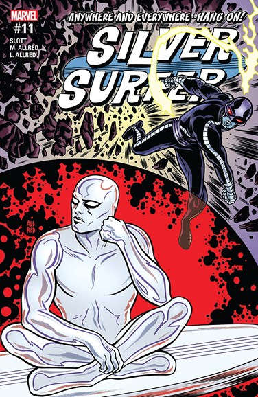 Silver Surfer Cover - 7/1/2017