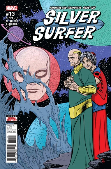 Silver Surfer Cover - 10/1/2017