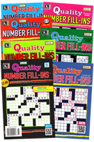 Quality Number Fill-ins Magazine 1/1/2025