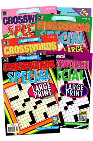 Blue Ribbon Crosswords Special Magazine | 1/2026 Cover
