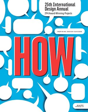 HOW Design Magazine   3/1/2018 Cover