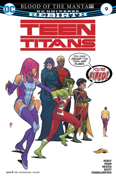 Teen Titans Cover - 8/1/2017