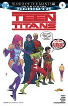 Teen Titans Comic 8/1/2017