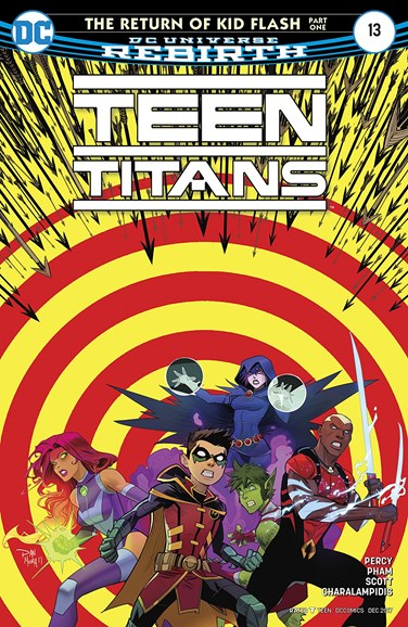 Teen Titans Cover - 12/1/2017