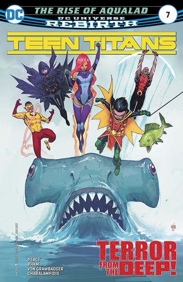 Teen Titans Cover - 6/1/2017