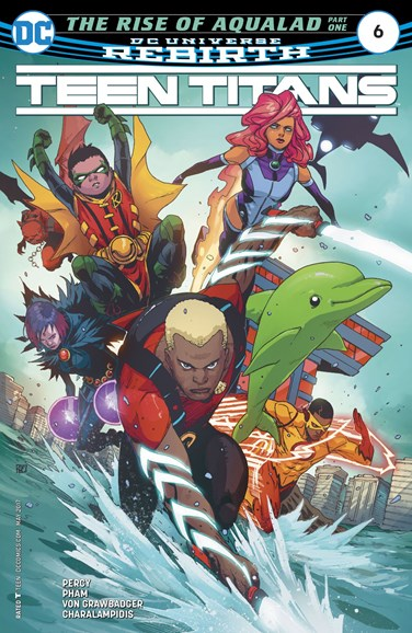 Teen Titans Cover - 5/1/2017