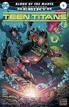 Teen Titans Comic 10/1/2017