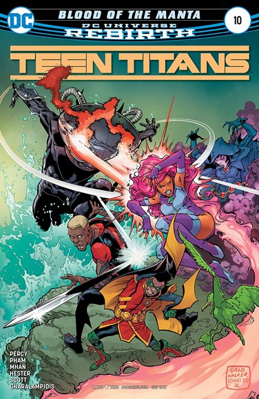 Teen Titans Cover - 9/1/2017