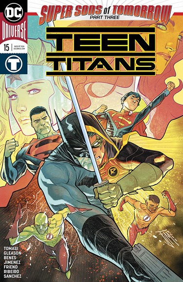 Teen Titans Cover - 2/1/2018