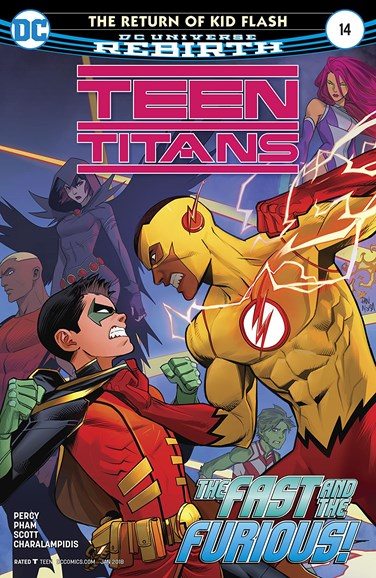 Teen Titans Cover - 1/1/2018