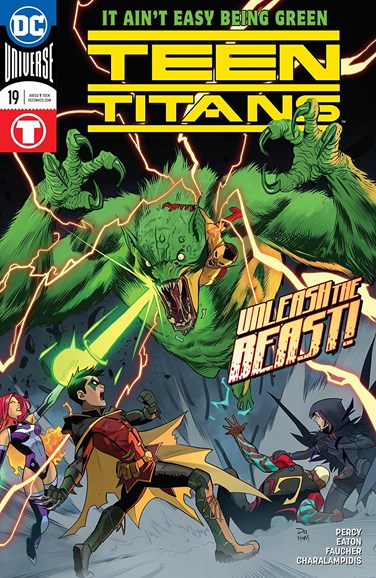 Teen Titans Cover - 6/1/2018