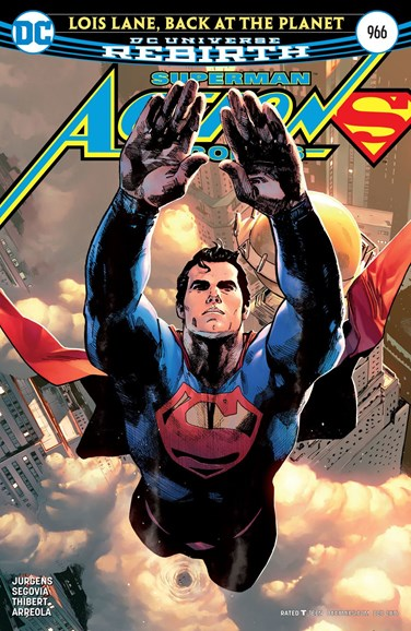 Action Comics Cover - 12/1/2016