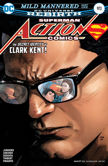 Action Comics Cover - 4/1/2017