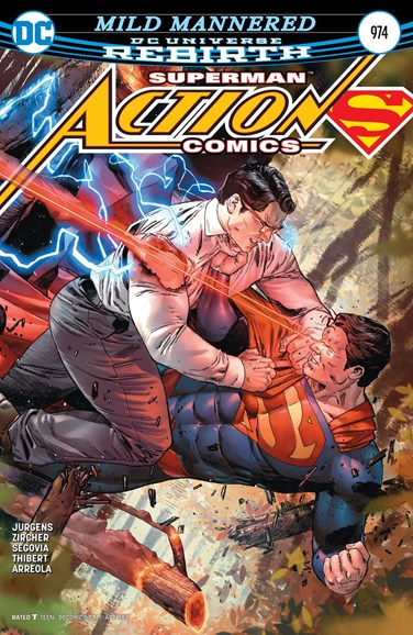 Action Comics Cover - 4/15/2017