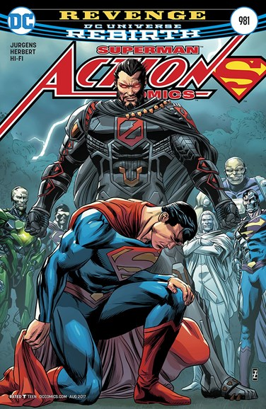 Action Comics Cover - 8/1/2017
