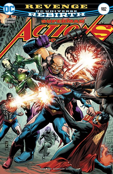 Action Comics Cover - 8/15/2017