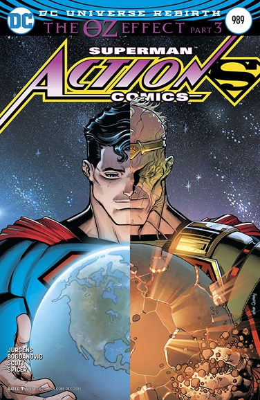 Action Comics Cover - 12/1/2017