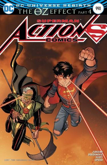 Action Comics Cover - 12/15/2017
