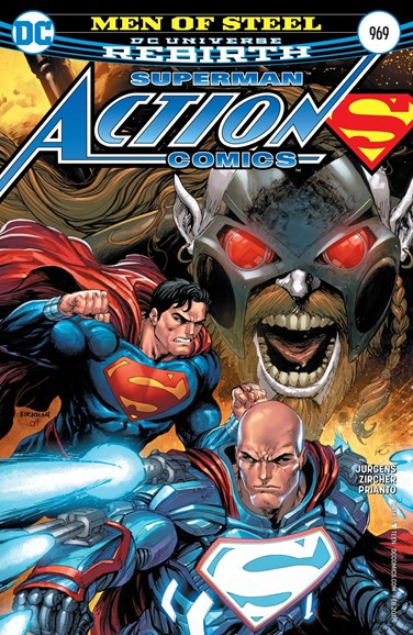 Action Comics Cover - 2/1/2017