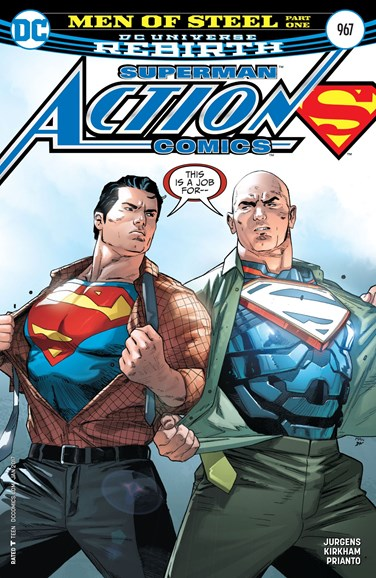 Action Comics Cover - 1/1/2017