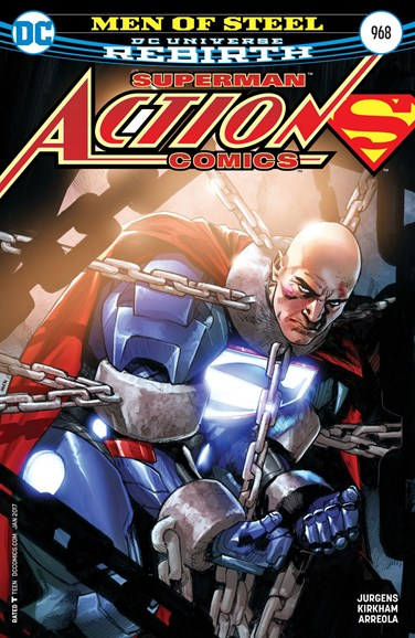 Action Comics Cover - 1/15/2017