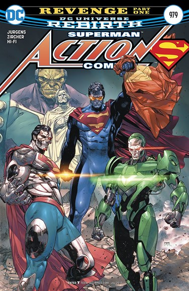 Action Comics Cover - 7/1/2017