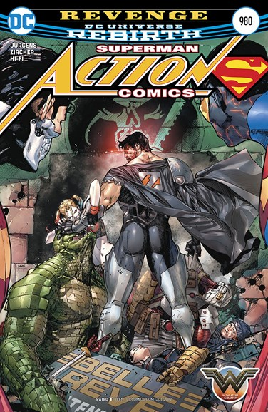 Action Comics Cover - 7/15/2017