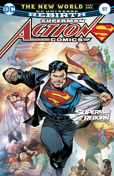Action Comics Cover - 6/1/2017