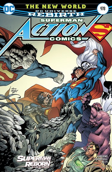 Action Comics Cover - 6/15/2017