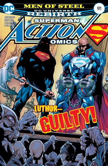 Action Comics Cover - 3/1/2017