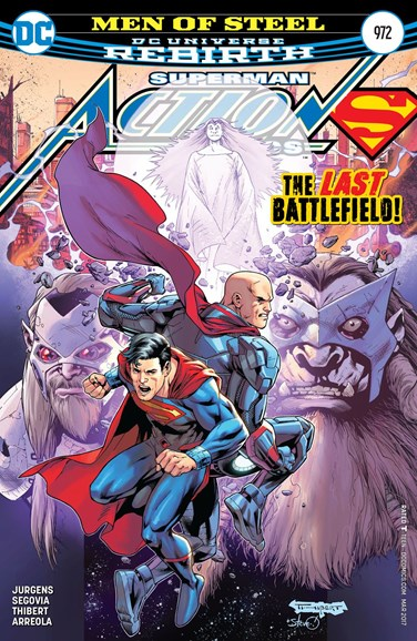 Action Comics Cover - 3/15/2017