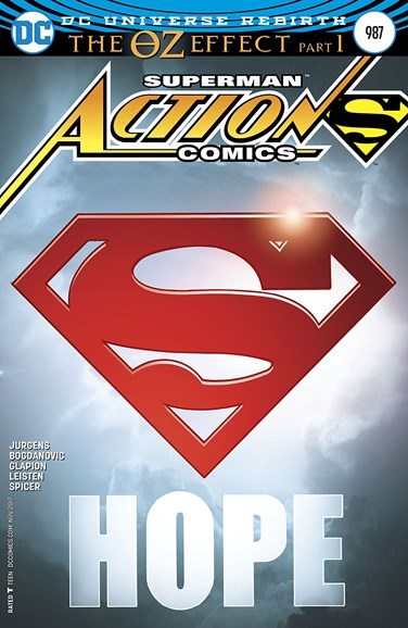 Action Comics Cover - 11/1/2017