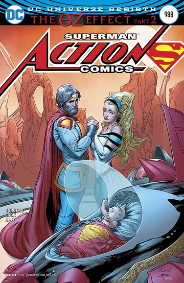 Action Comics Cover - 11/15/2017